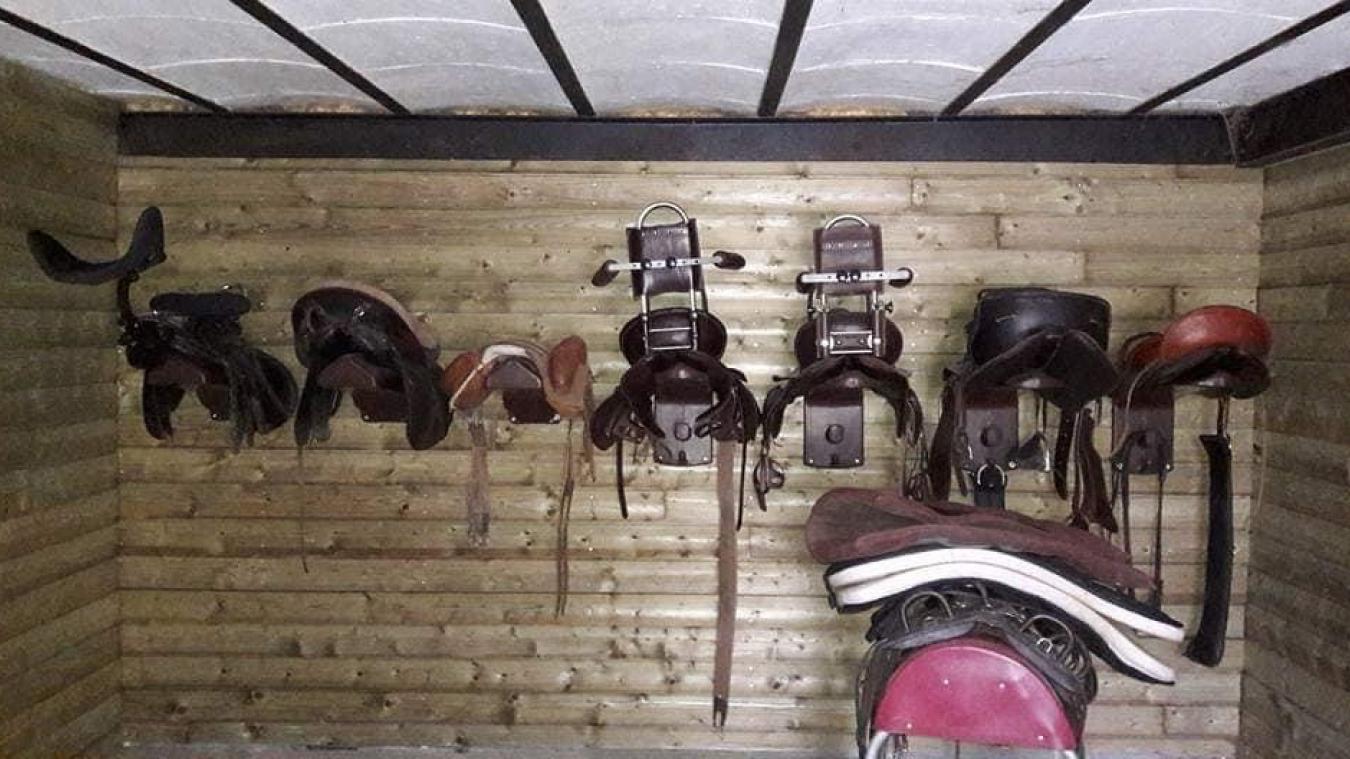 Du matériel de scellerie pour personnes handicapées a été volé à Bailleul dans le centre équestre Adapt Equit.