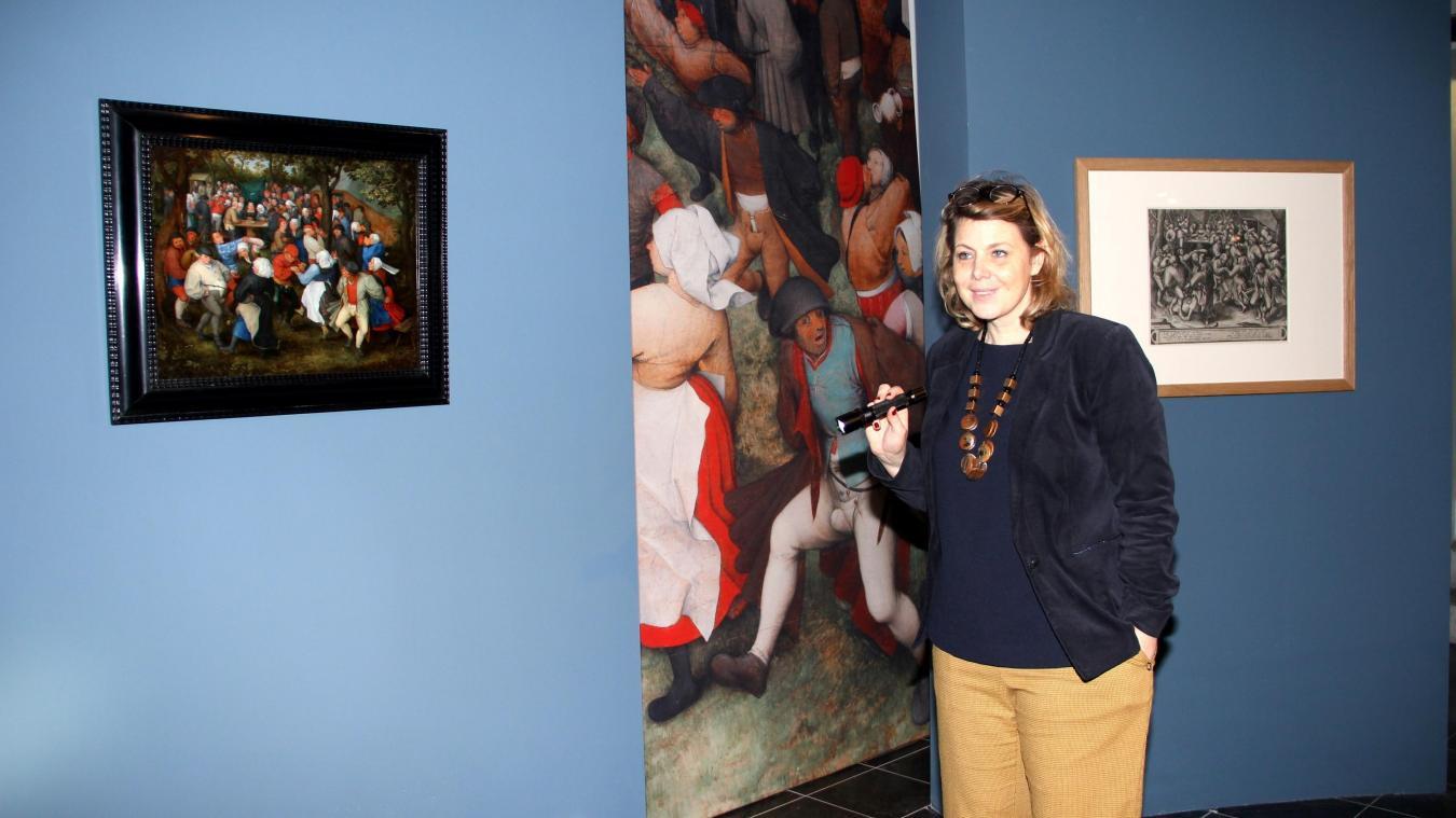 Sandrine Vézilier-Dussart est la commissaire de l'exposition « Fêtes et kermesses au temps des Brueghel » qui ouvre ses portes samedi 16 mars.
