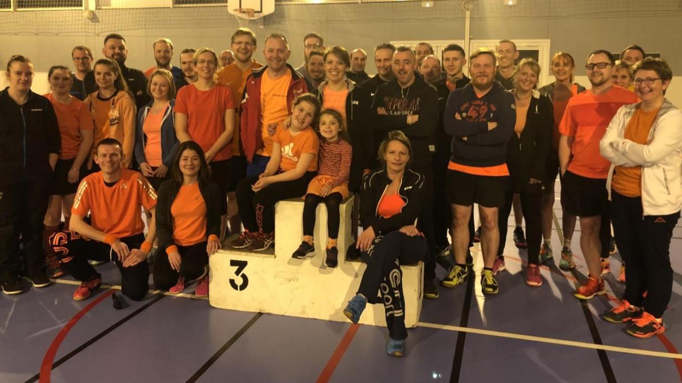 L'orange était le code-couleur de ce tournoi lillérois qui a réuni 32 joueurs à la salle Léo-Lagrange.