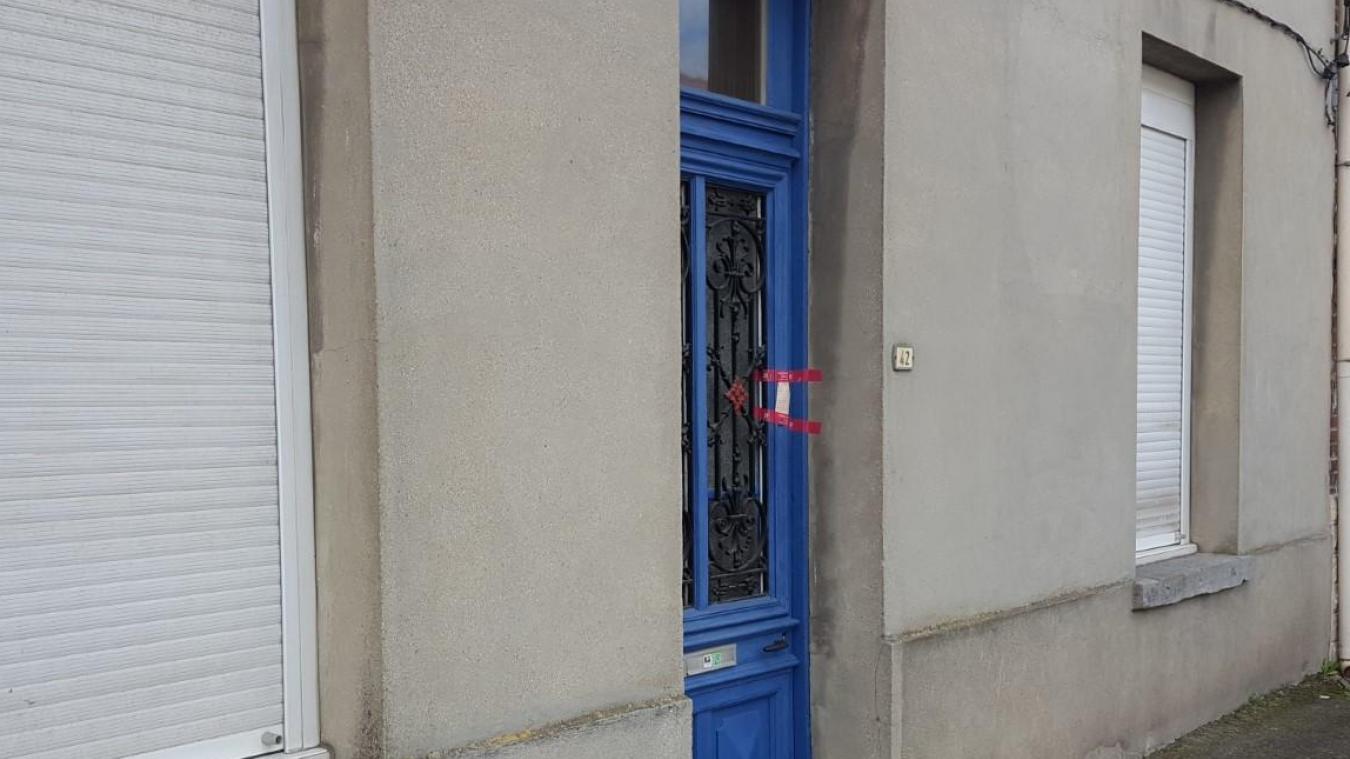 Le drame s'est produit dans la rue des Martyrs de Lillers.