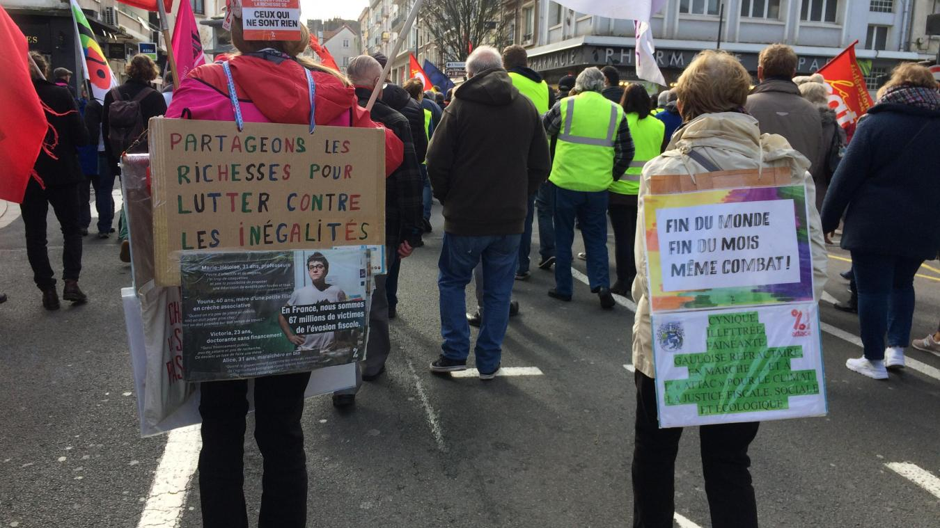 Redonner du pouvoir d'achat à tous les Français. Une lutte commune à tous les syndicats.