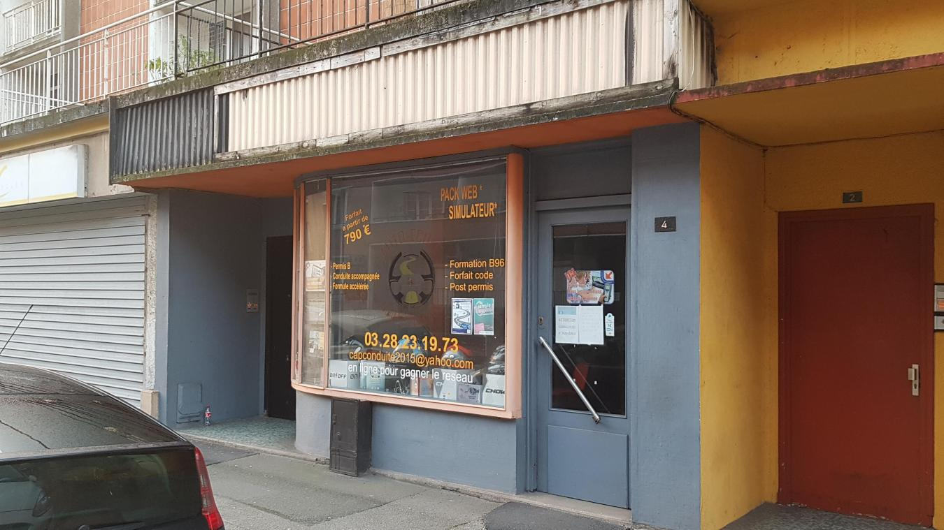 Les locaux dunkerquois de l'auto-école Cap Conduite sont situés au 4, rue des Arbres.