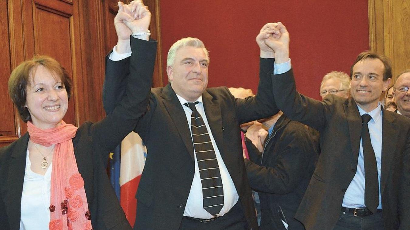 Frédéric Cuvillier lors de sa victoire en mars 2014. Qui va se lancer contre lui l'an prochain ?