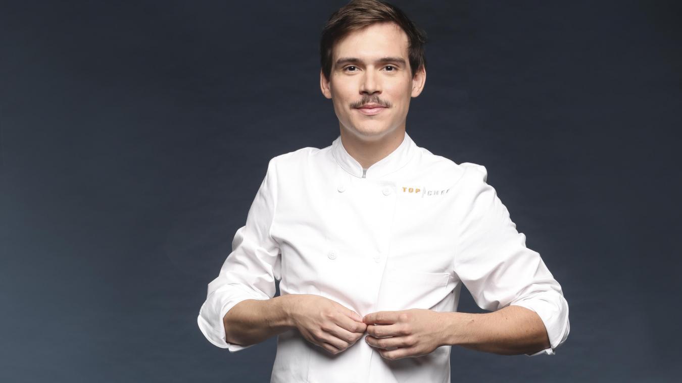 Damien Laforce s'est qualifié, mercredi 20 mars, pour la huitième semaine de compétition dans Top Chef. ©Marie Etchegoyen/M6