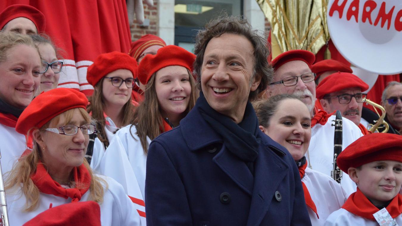 La dernière fois que Stéphane Bern est venu à Cassel, c'était pour le tournage de l'émision Le Village préféré des Français, en mai 2018.