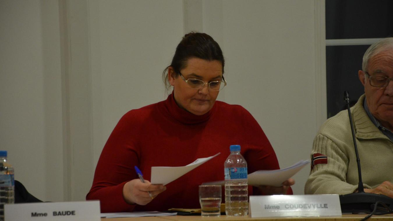 Sophie Coudevylle fait partie des conseillers municipaux qui ont le taux de présence le moins élevé. Un chiffre qu'elle explique par son activité professionnelle.