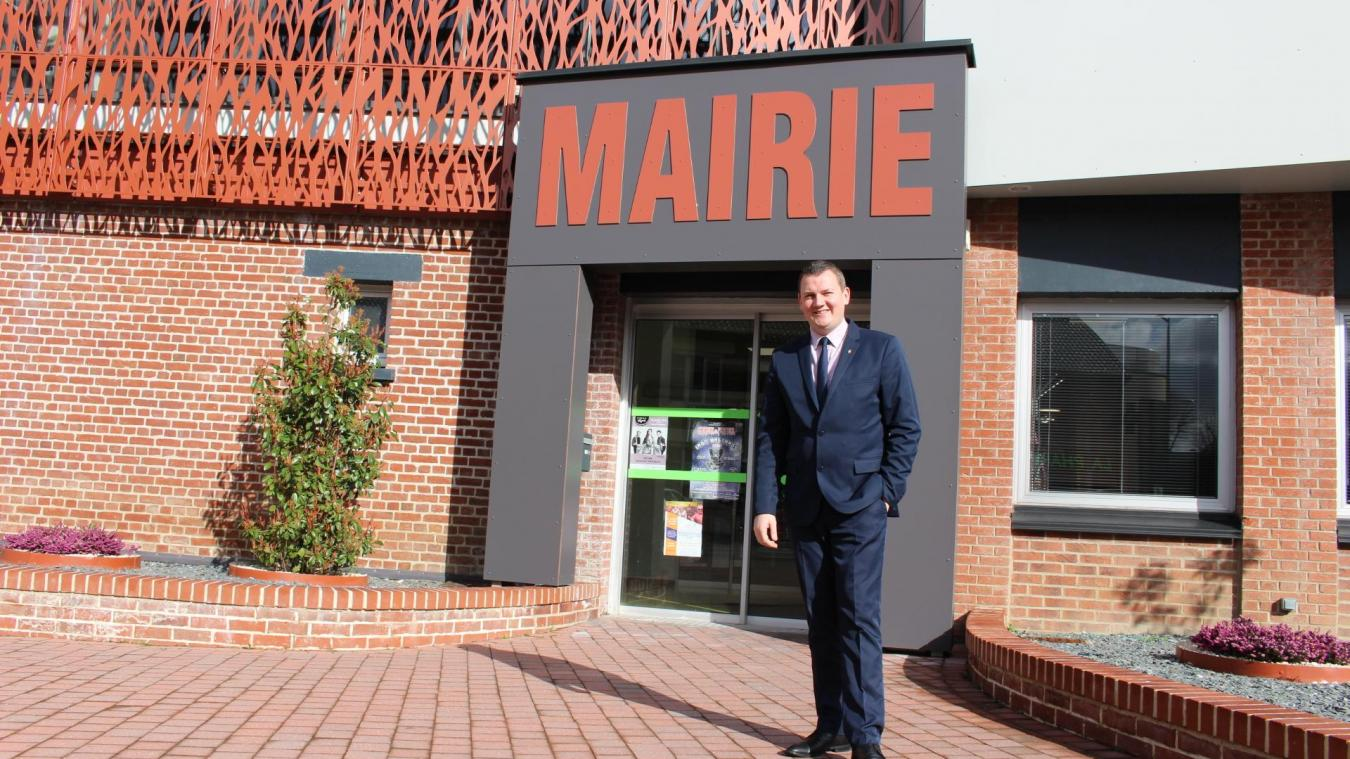 Julien Dagbert brigue la mairie de Barlin en janvier 2018.