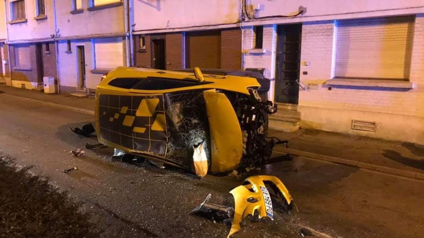 Béthune: sept voitures percutées par un véhicule fou