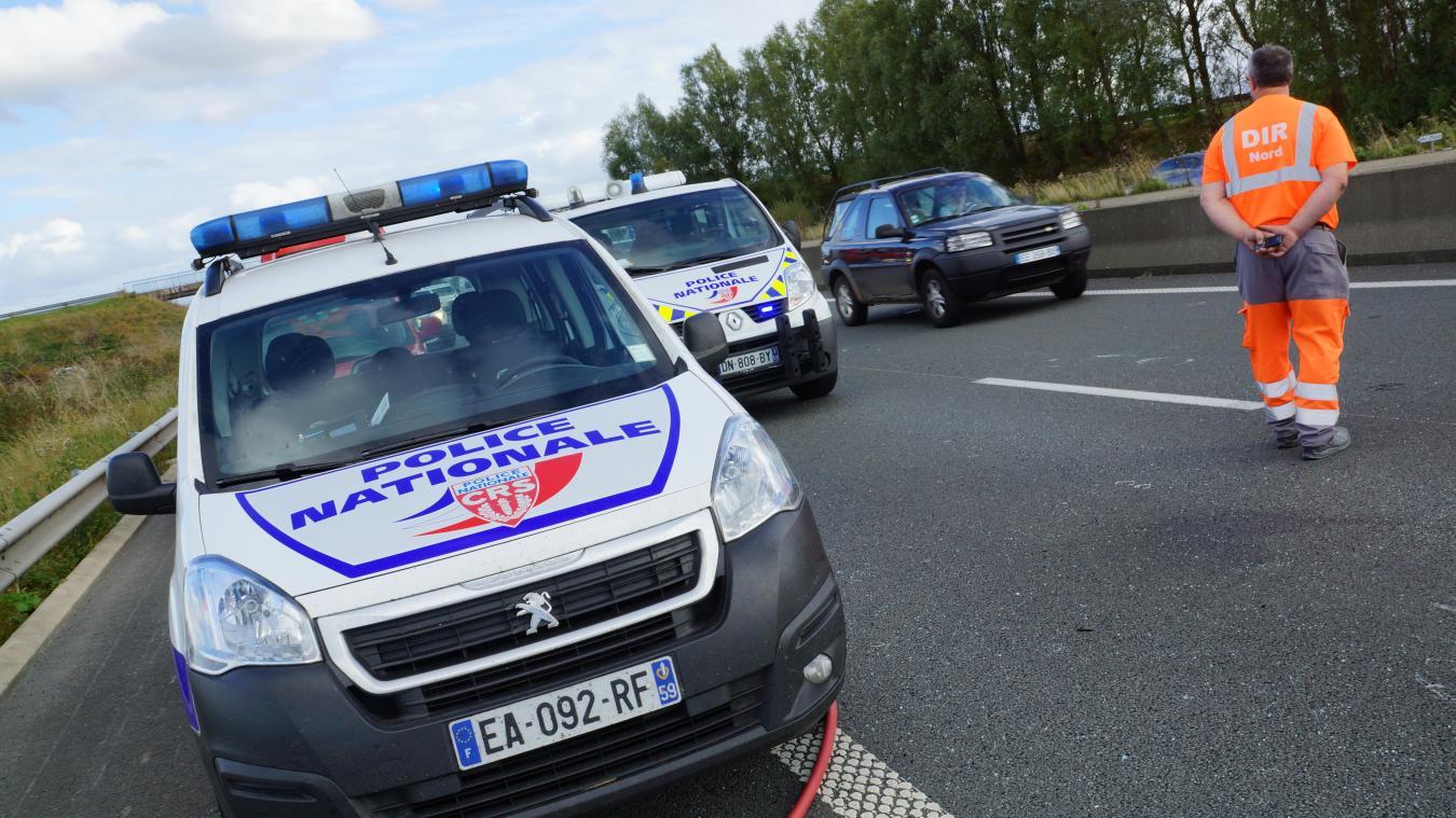 Compte tenu du lieu de l'accident et des travaux en cours sur l'autoroute, de gros bouchons se sont formés en amont de l'accident. (Photo d'illustration)