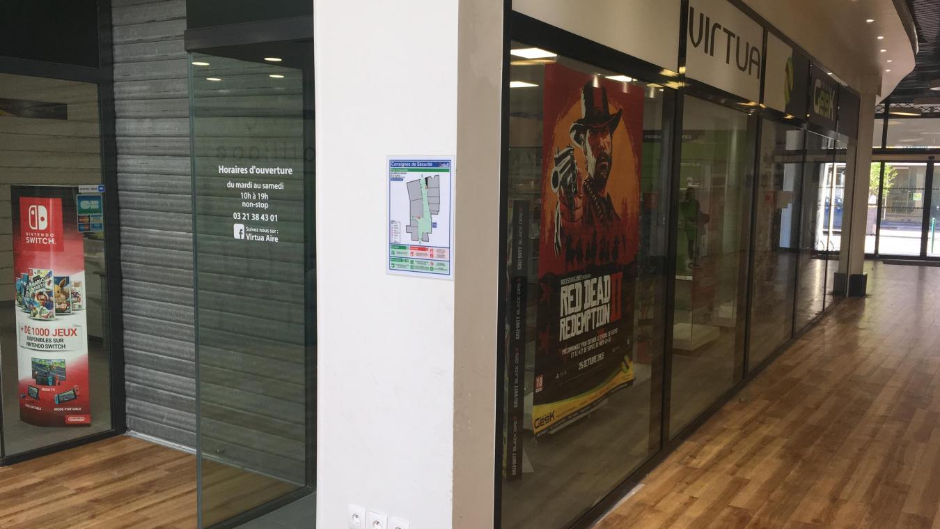 Commerces - Le magasin de jeux vidéos ferme définitivement à