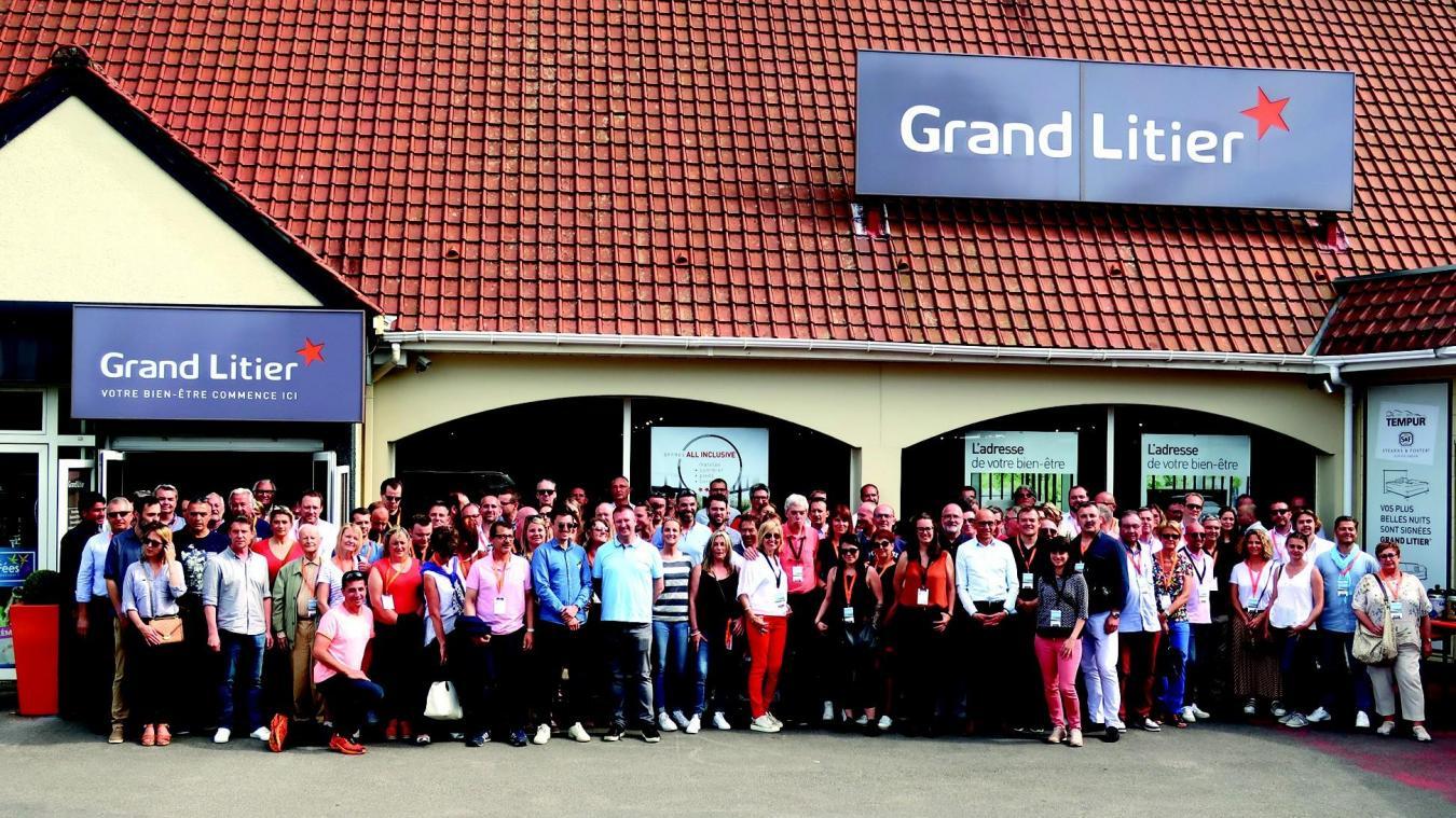 40 collaborateurs de Grand Litier se sont réunis au Touquet ...