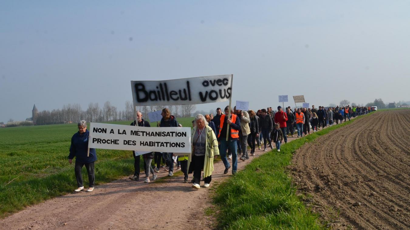 Samedi 30 mars 2019, 200 personnes avaient manifesté contre le projet.