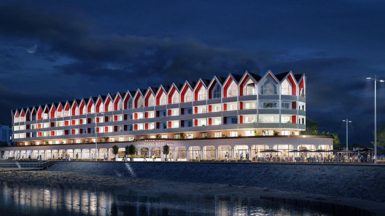 Voici un des plans de l'hôtel quatre étoiles.