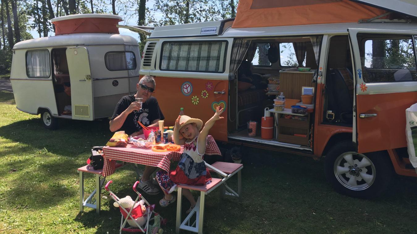 Insolite : un camping vintage s'installe au fort de Petite-Synthe