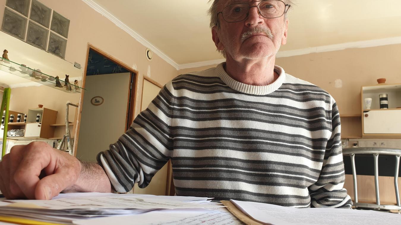 Paul Guérard a couché son expérience dans des cahiers qui pourraient être édités par l'administration pénitentiaire.