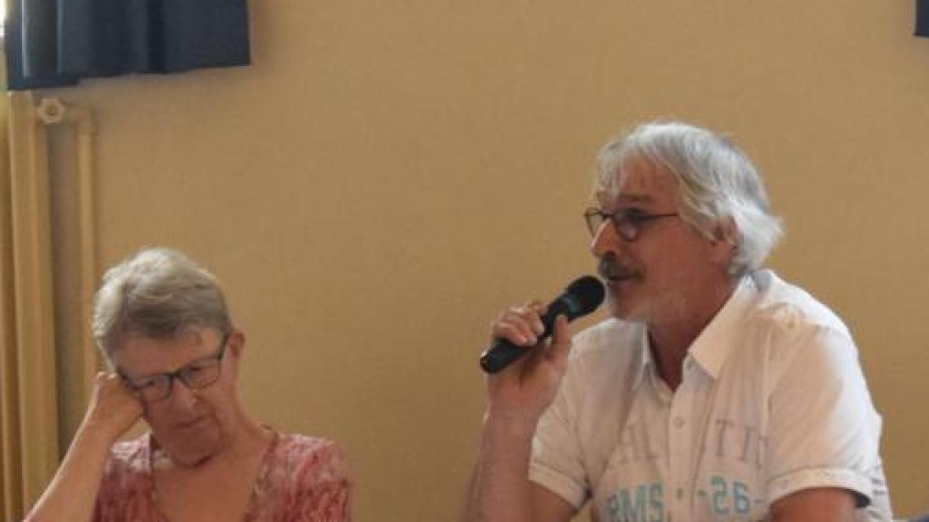 Jean-Lin Plancke est l'un des membres actif du collectif Wormhout autrement.