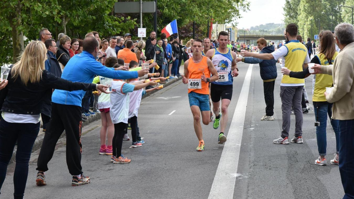 Un beau plateau d'athlètes au semi-marathon et au 10 km de Boulogne