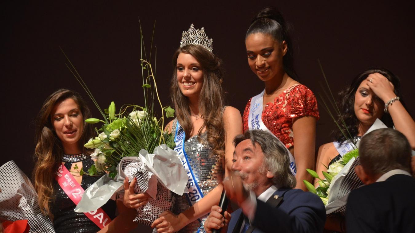 A 21 ans, Axelle Podvin devient la première Miss Val de Lys de l'histoire.