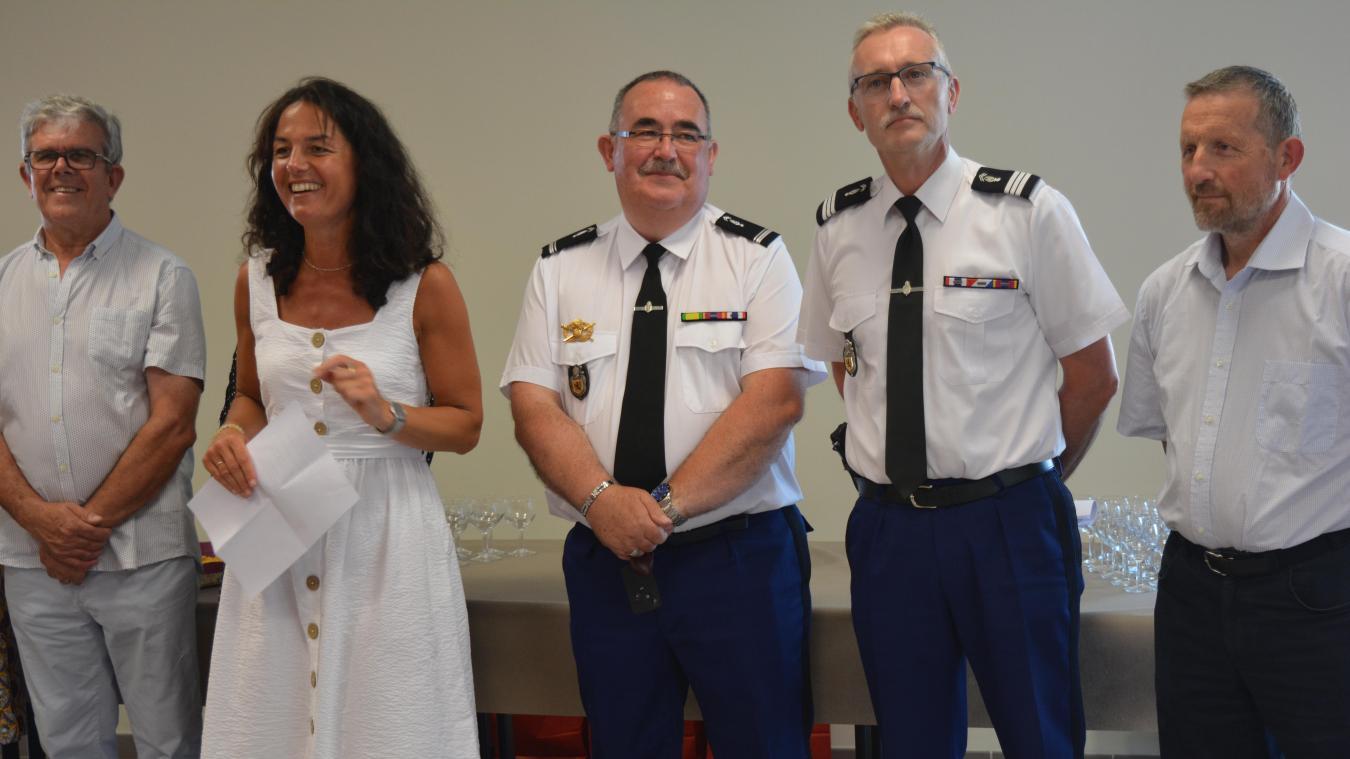 Le major Dauchez tracera bientôt un trait sur 38 années au service de la gendarmerie.