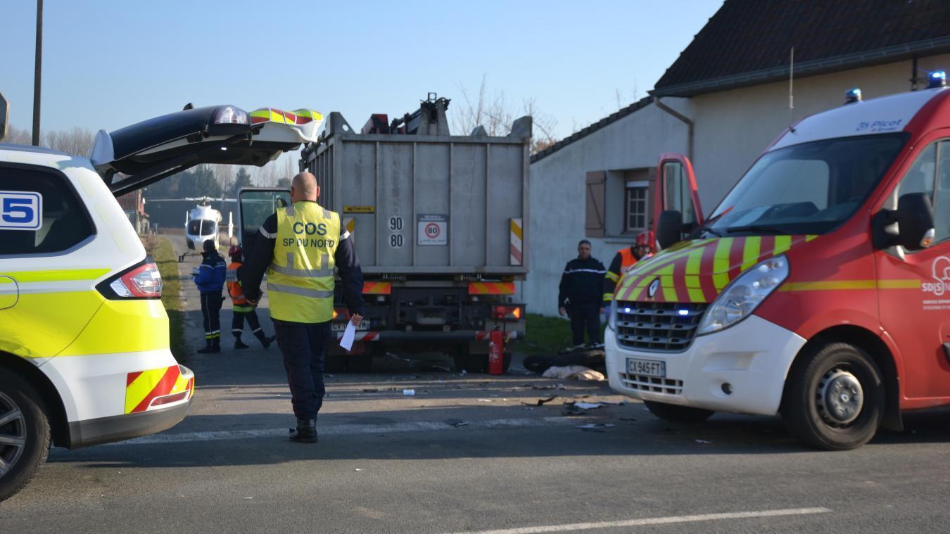 Déjà deux morts et 14 accidents sur les routes de Flandre