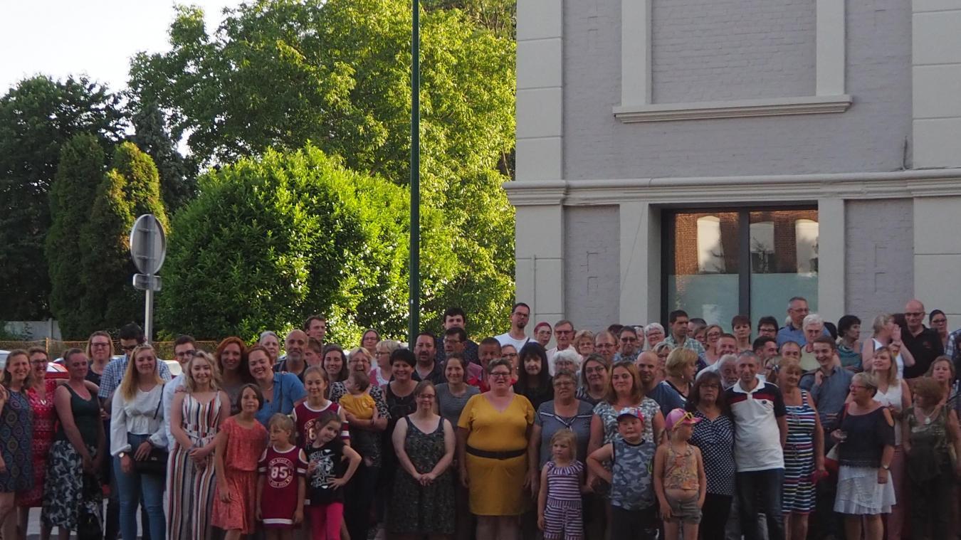 Une centaine d'adhérents a participé à l'assemblée générale de la MJEP, et au repas qui a suivi.
