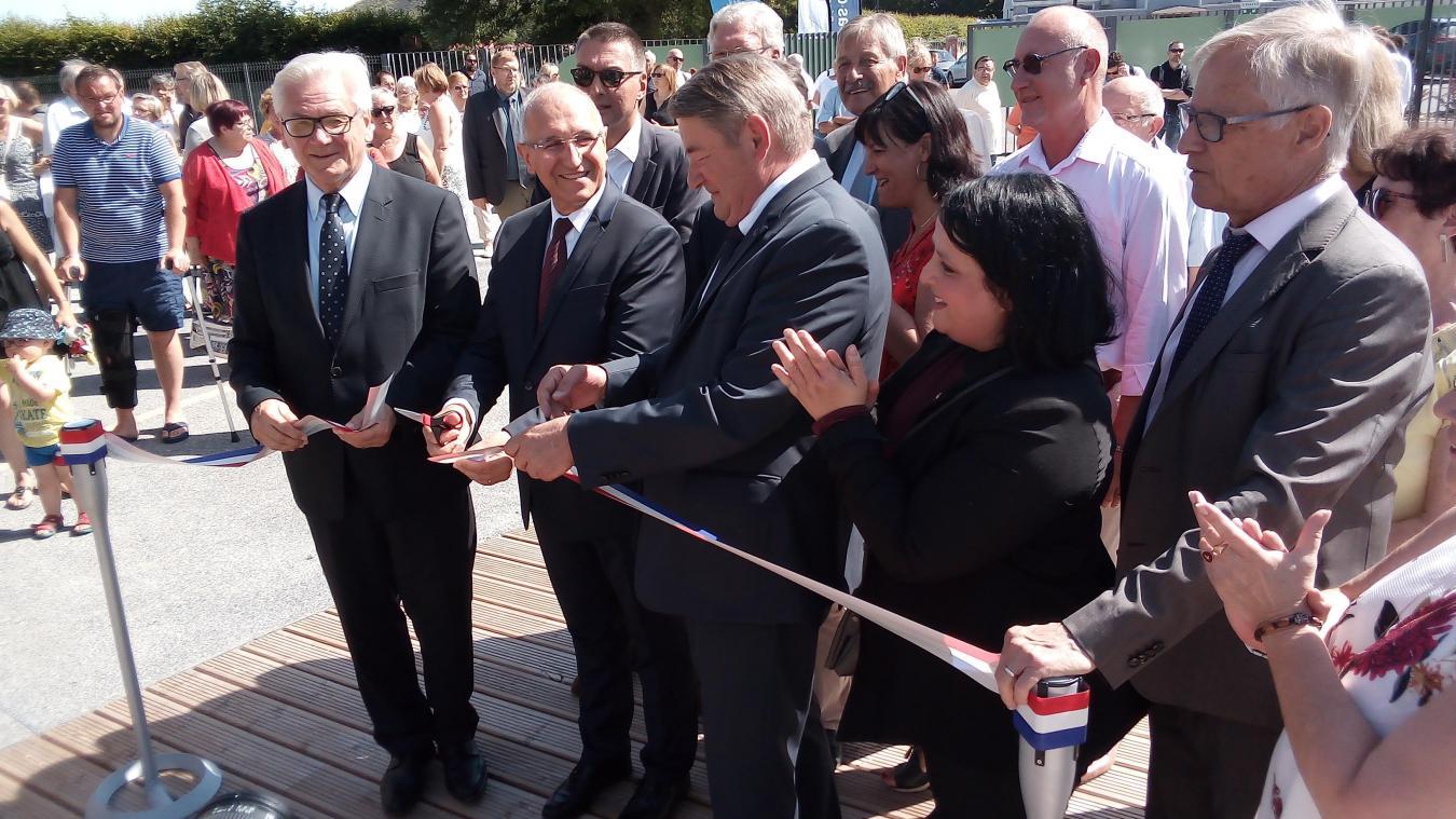 L'ouverture officielle de la médiathèque aura lieu le 2 septembre.