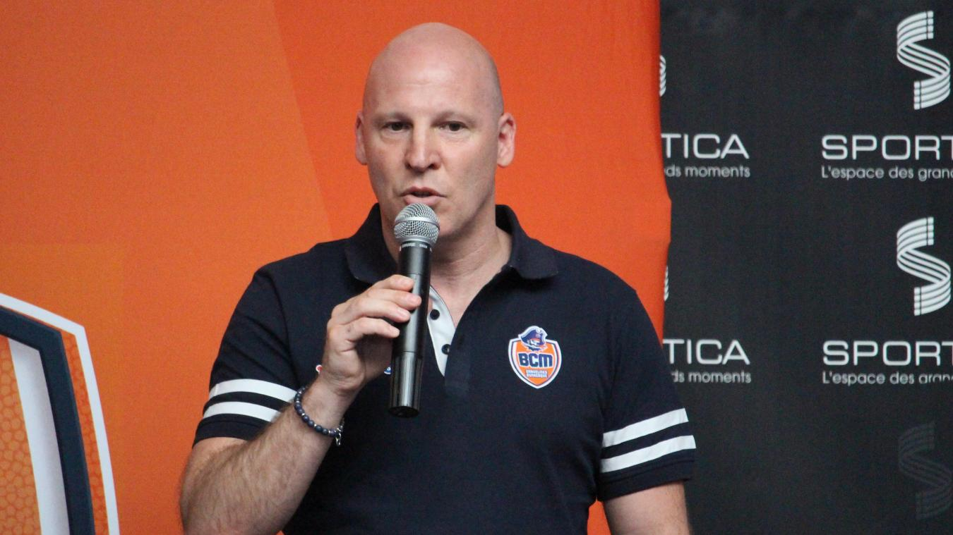 Eric Bartécheky a été présenté aux abonnés à la fin du mois de juin. ©  BCM