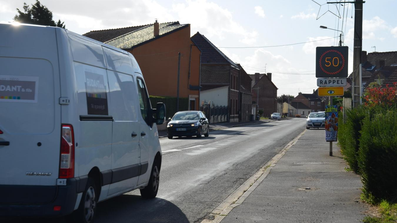 Vermelles : la rue Voltaire va devenir prioritaire pour casser la vitesse