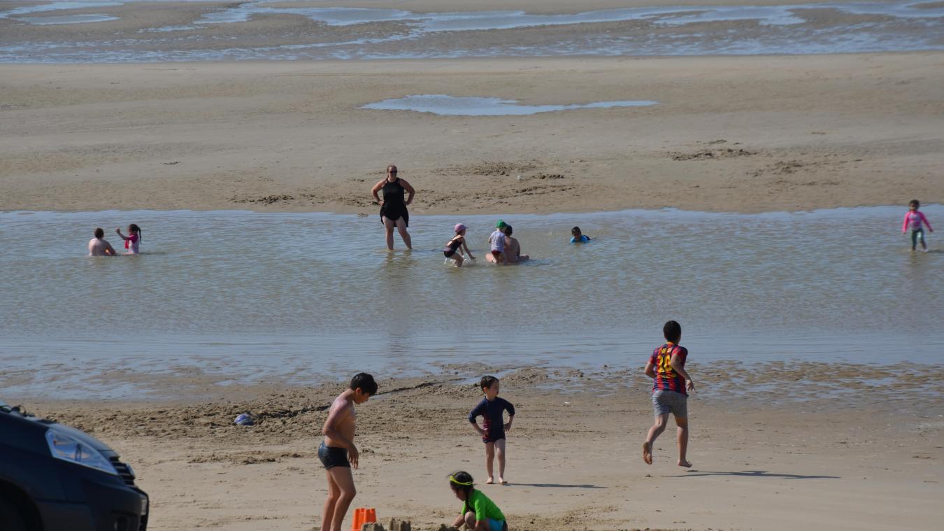 Alors que des enfants jouaient à proximité, un Petit-Synthois de 24 ans effectuait du rodéo sur la digue du Braek.