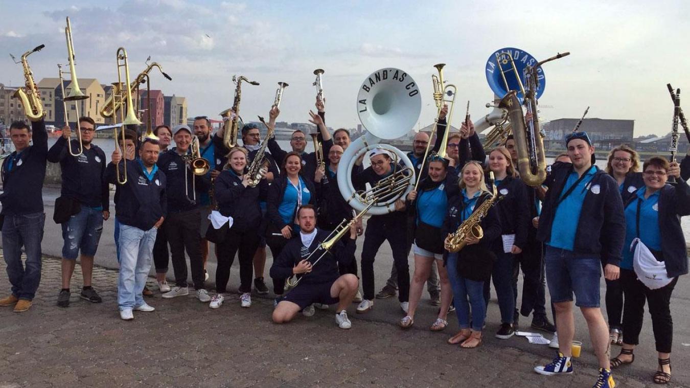 La fanfare de rue, Band' As Co, sera présente pour cette édition.