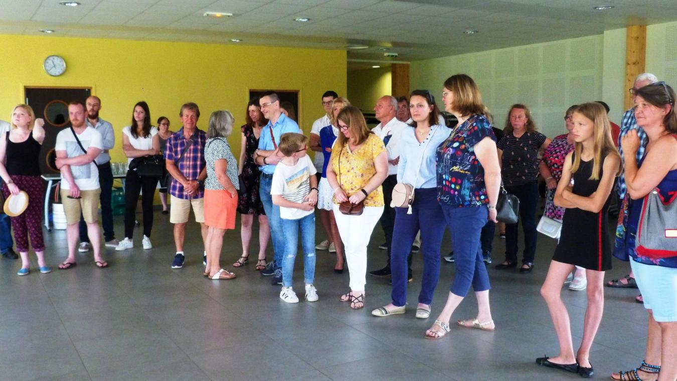 Plusieurs dizaines de nouveaux habitants ont répondu à l'invitation du maire.