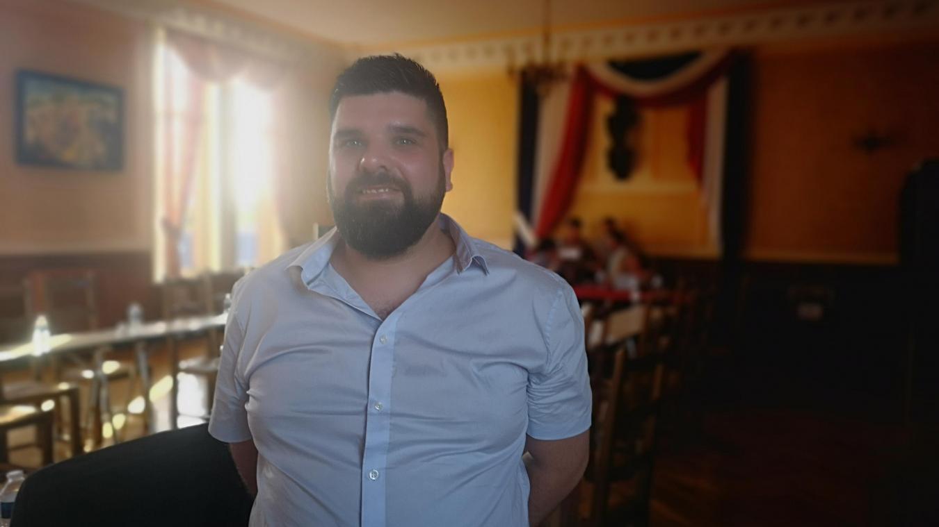 Jeudi 4 juillet, Julien Vouliot a été élu adjoint au maire avec 23 voix sur 27.