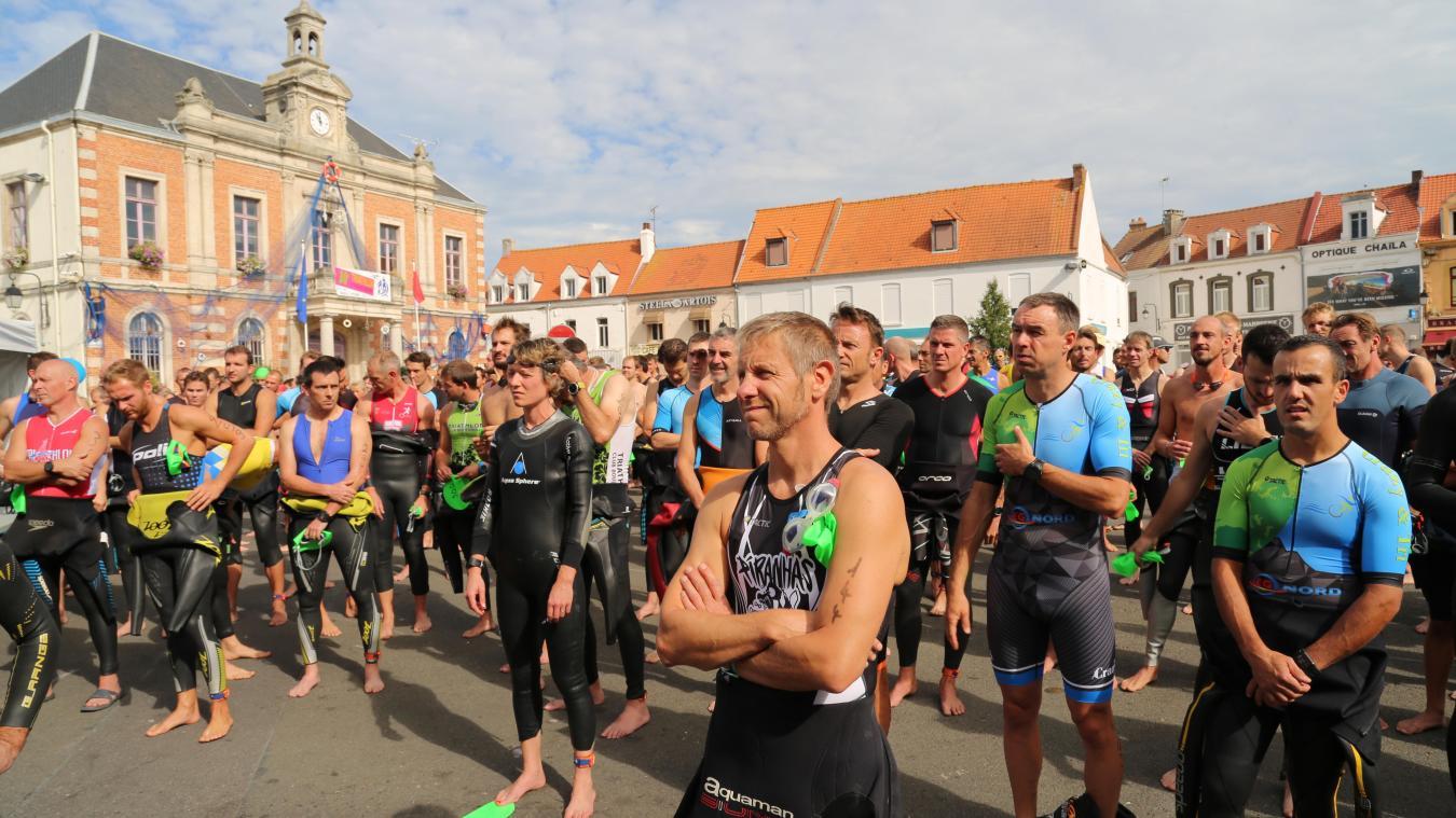 Cette année, près de 400 participants devraient être alignés au départ du triathlon ou de la nouvelle épreuve, le duathlon.