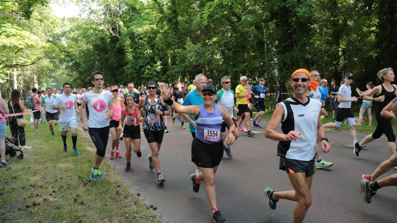 Cette année, le 10 km et le semi-marathon du Touquet ont attiré près de 2 600 coureurs.
