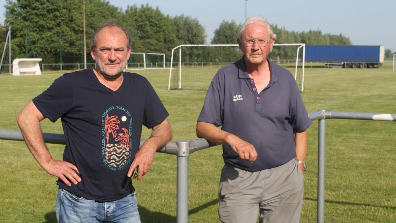Frédéric Dubois, l'entraîneur, et Louis Cainne, le président, ont l'ambition de retrouver la D2 très rapidement.