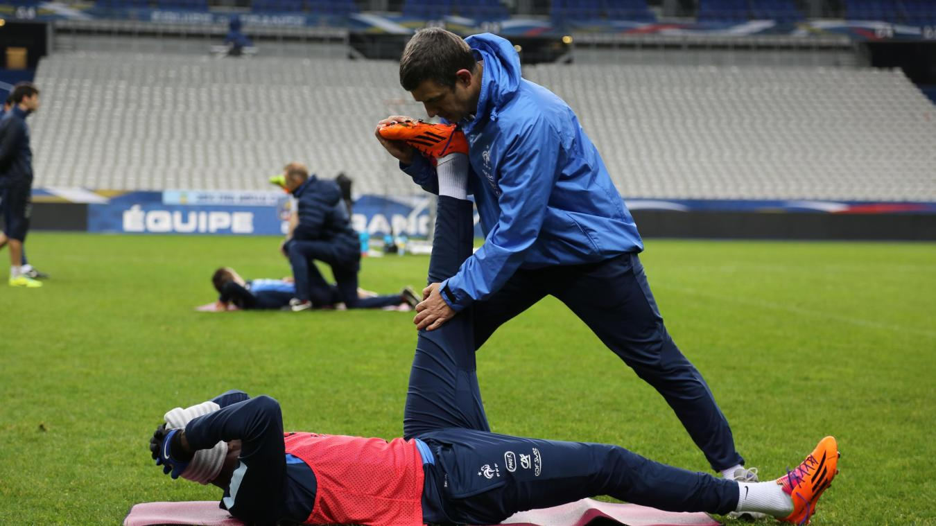 Le Portel : l'ostéopathe des Bleus va raconter sa Coupe du monde
