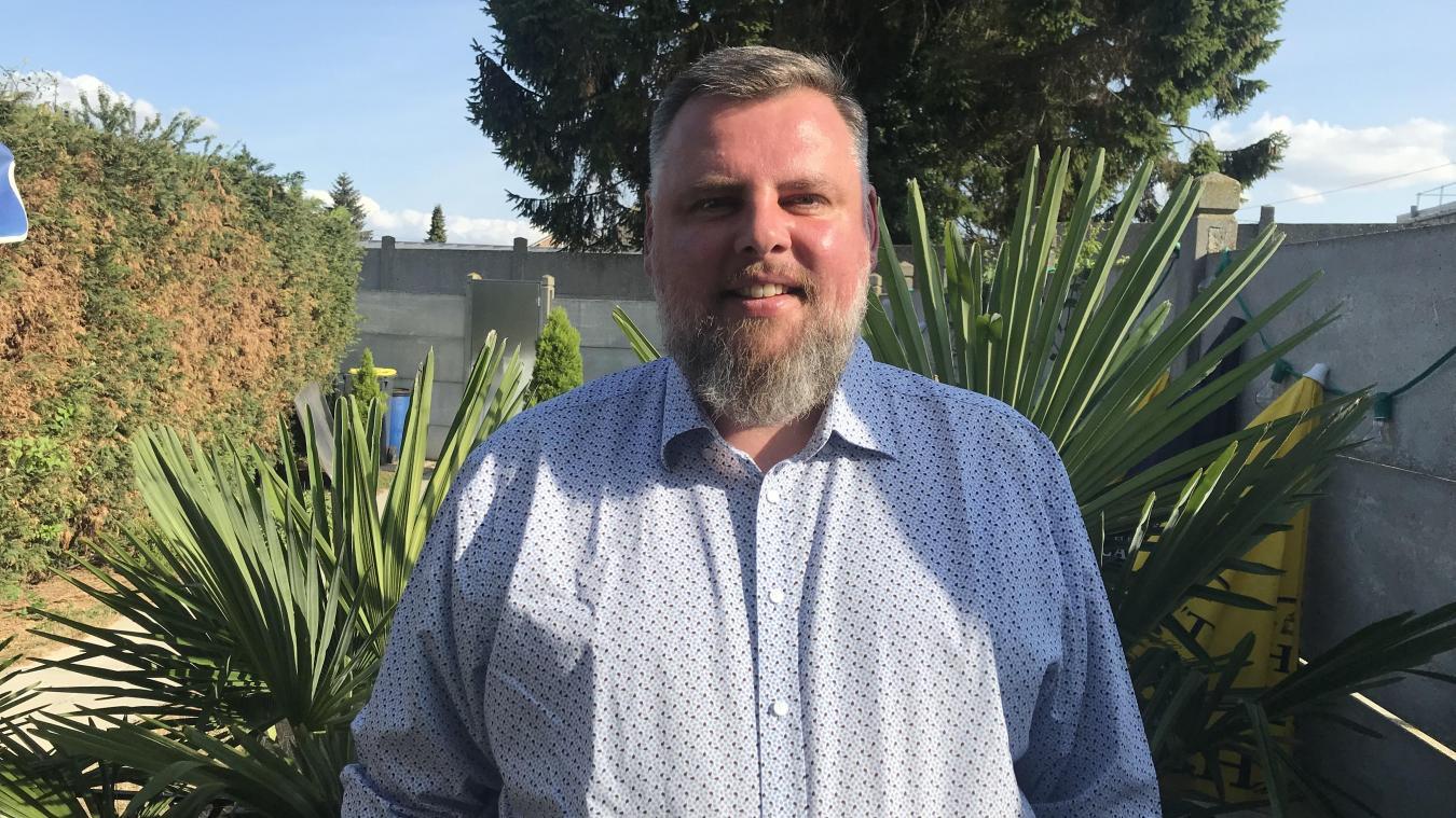 Sébastien Messent a effectué son premier mandat de conseiller municipal en 2001.