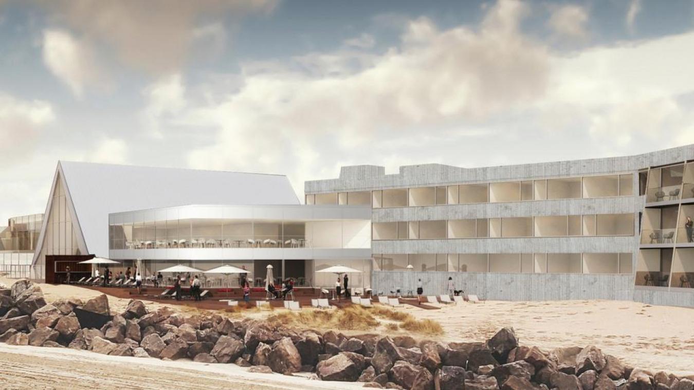 Le centre de thalassothérapie du Touquet connaît actuellement un important chantier de rénovation.