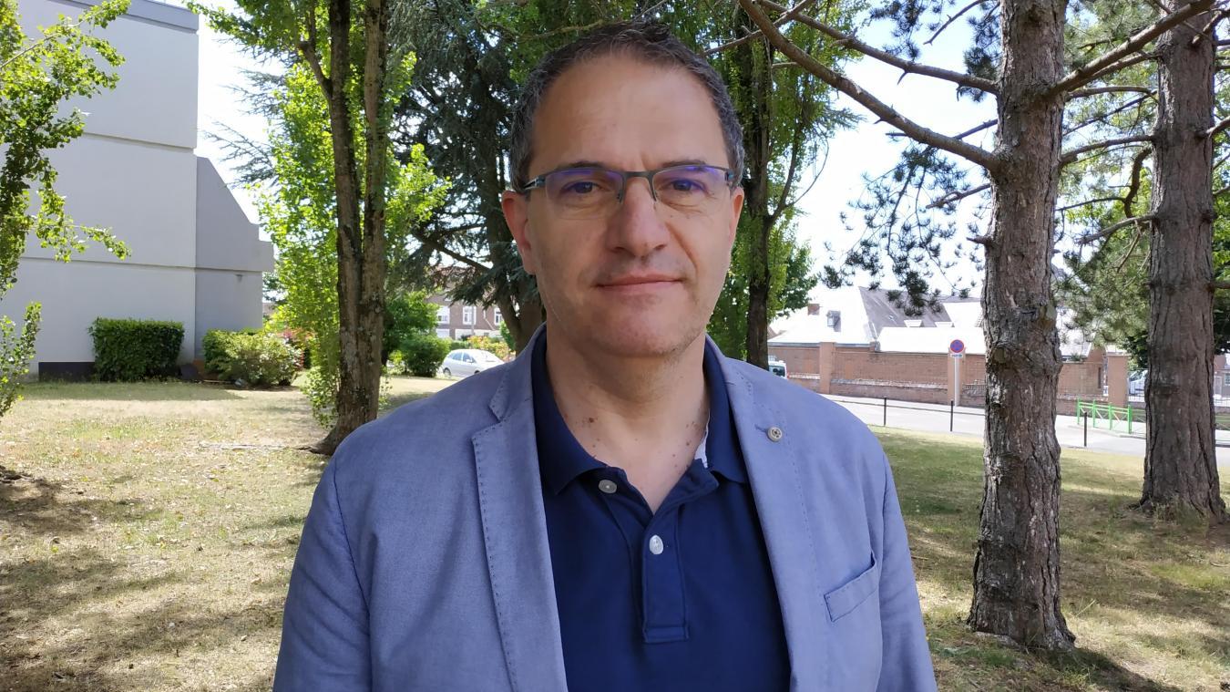 Luc Maroni compte bien finir le mandat pour lequel il a été élu en 2014.