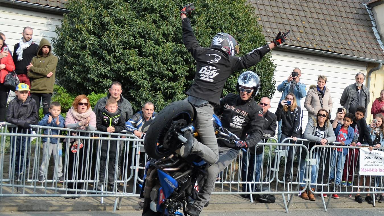 La ducasse va démarrer sur les chapeaux de roues avec ce spectacle acrobatique !