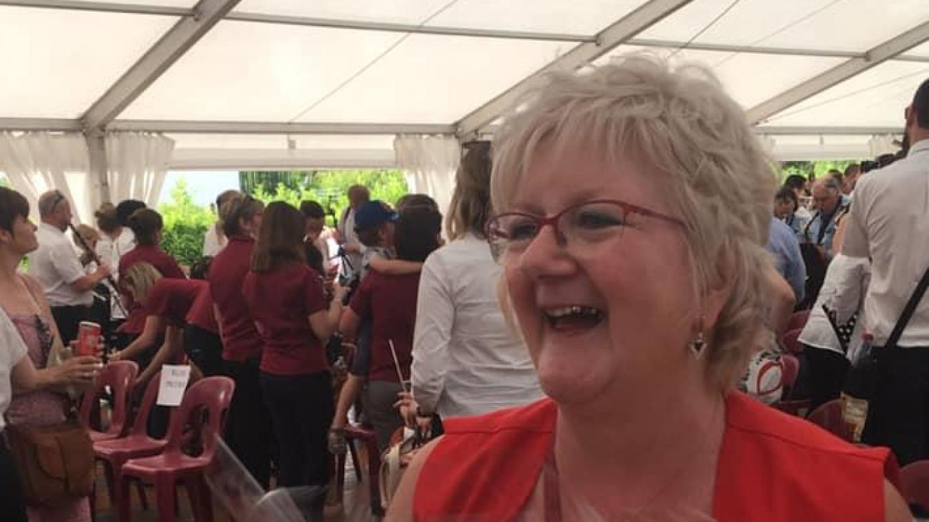 Le dimanche 2 juin, Véronique Poulain a été récompensée pour le festival qu'elle venait d'organiser.