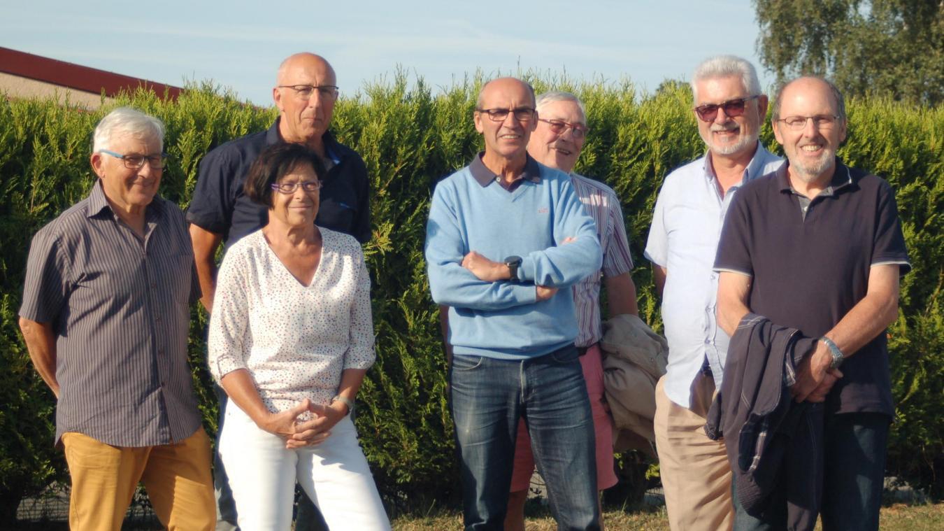L'équipe du club photo racquinghémois s'est réunie le 8 juillet.