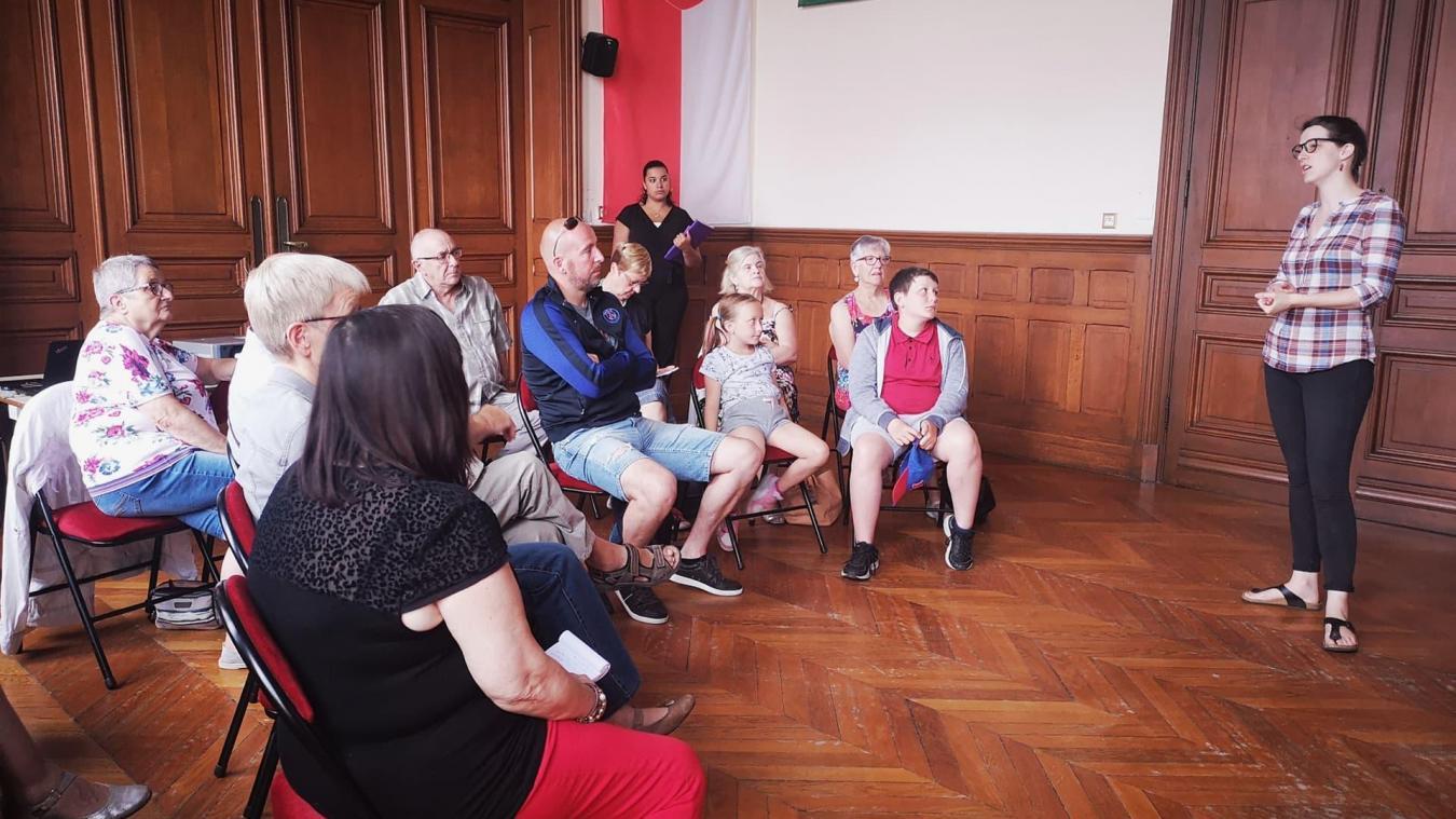 Une réunion d'information s'est tenue à Estaires.