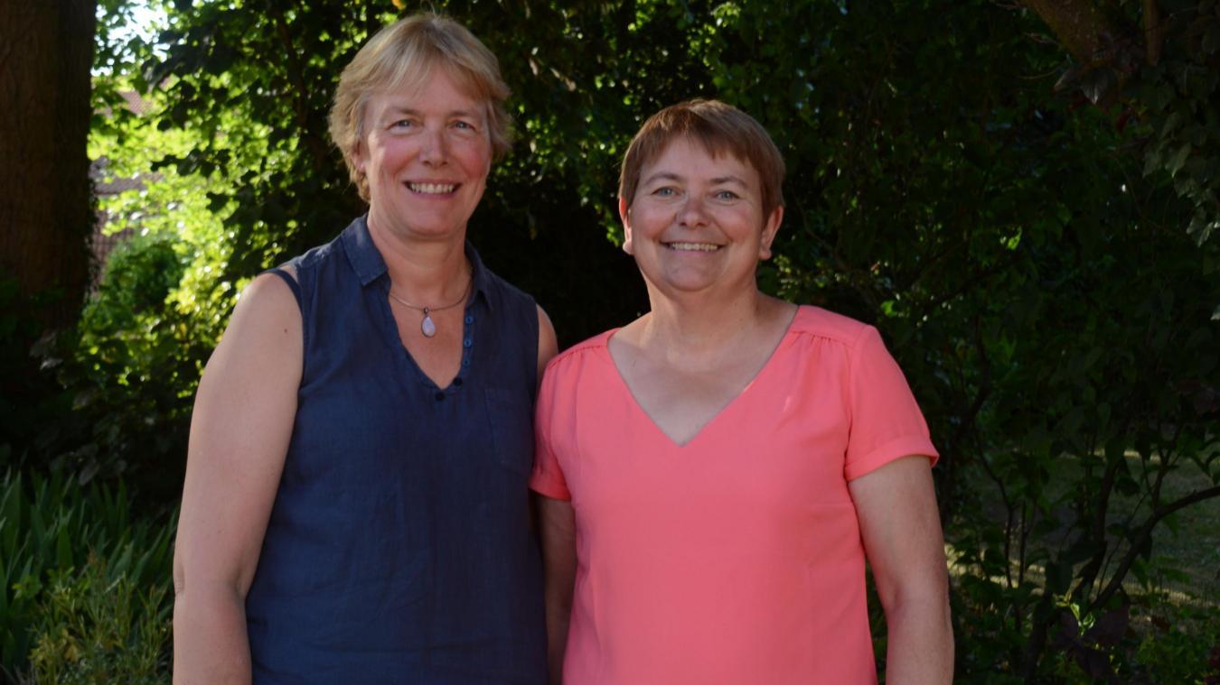 Béatrice Martin et Geneviève Thorel prendront officiellement leur retraite en septembre prochain.