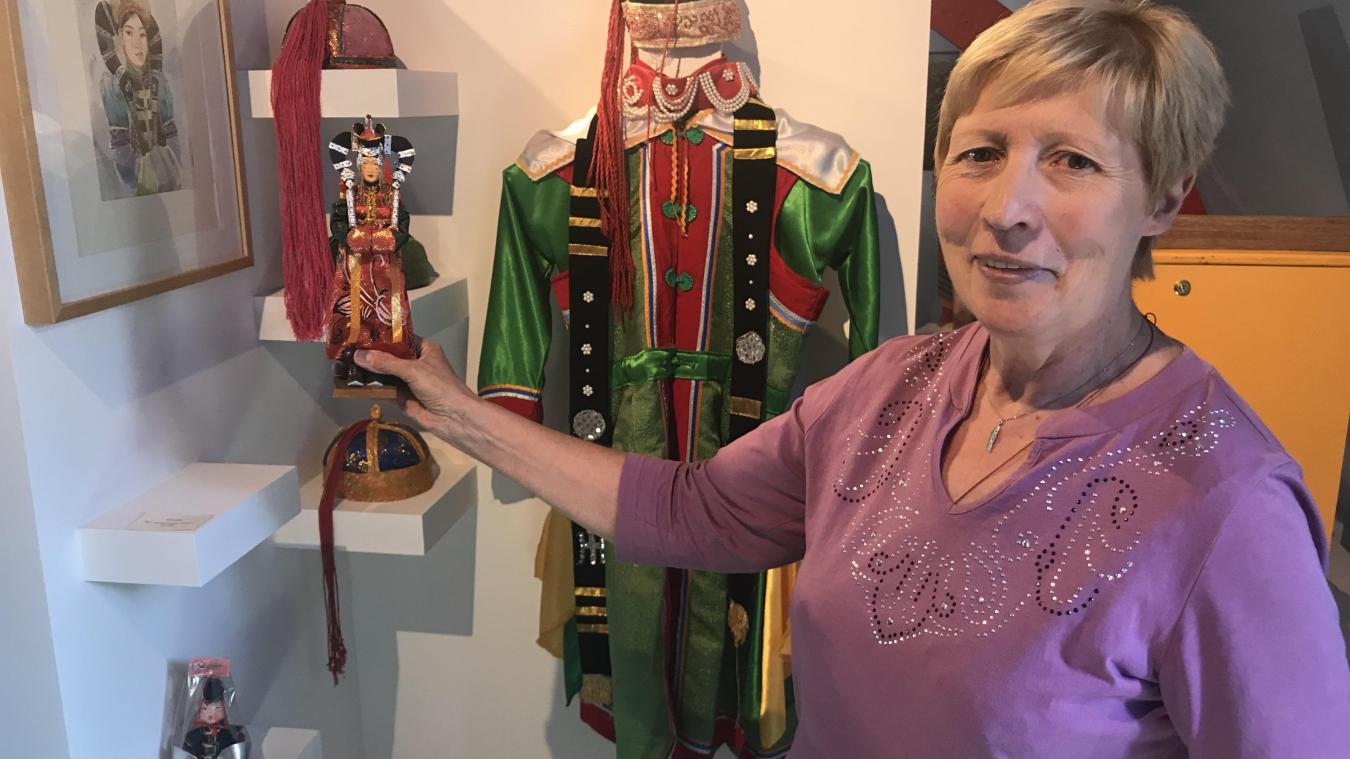 Chantal Gobillot, présidente du musée Guillaume de Rubrouck, s'est beaucoup engagée dans l'organisation pour accueillir au mieux les Mongols.