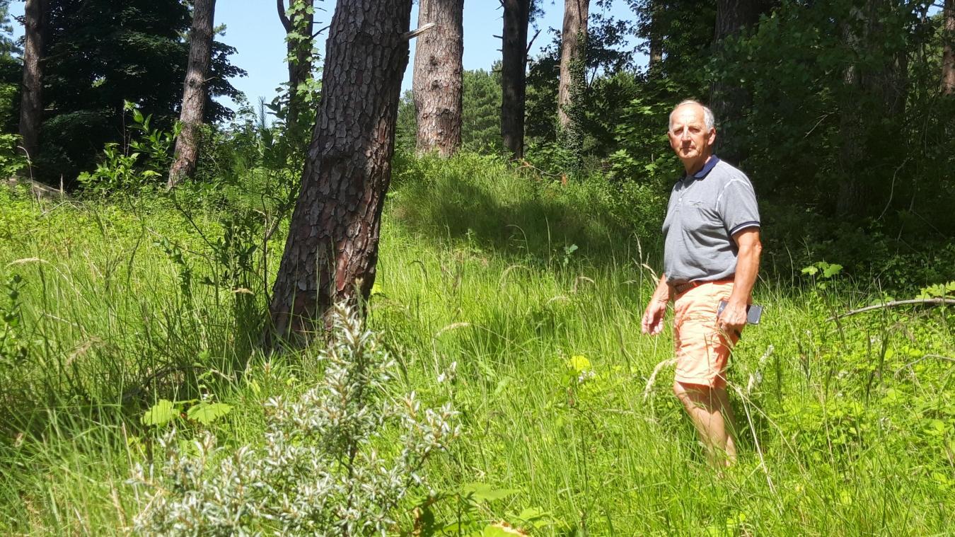 Yves Ducrocq est sidéré, lui qui ne peut pas construire sur le terrain qu'il a acheté il y a 15 ans.