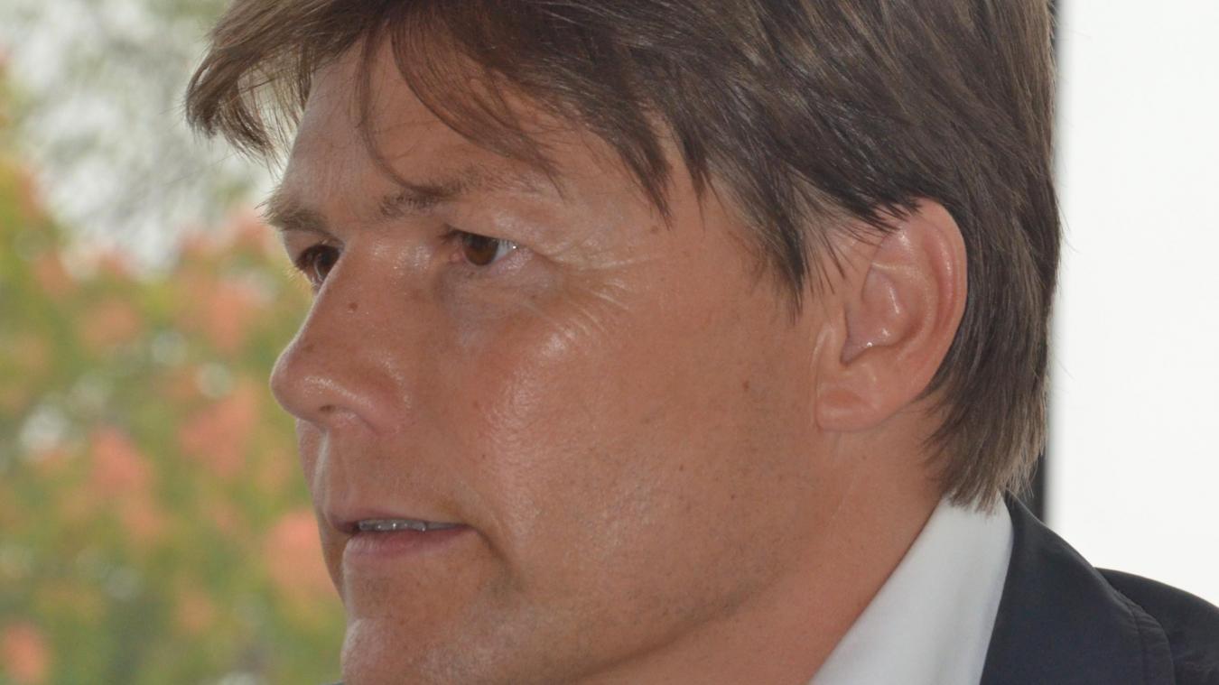 En déplacement professionnel à Paris, David Bailleul a été victime d'un accident.