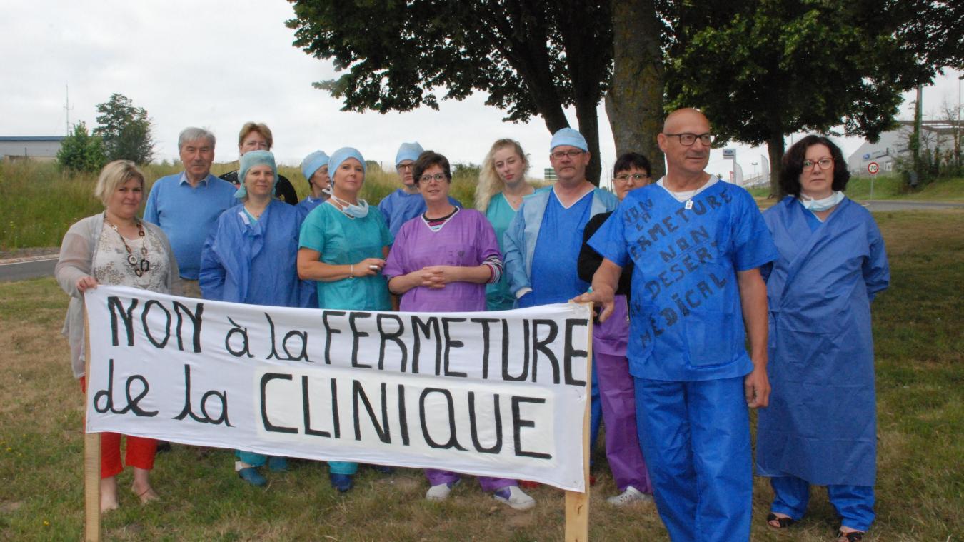 Les salariés, soutenus par les médecins, défendent leur outil de travail et un service de proximité.