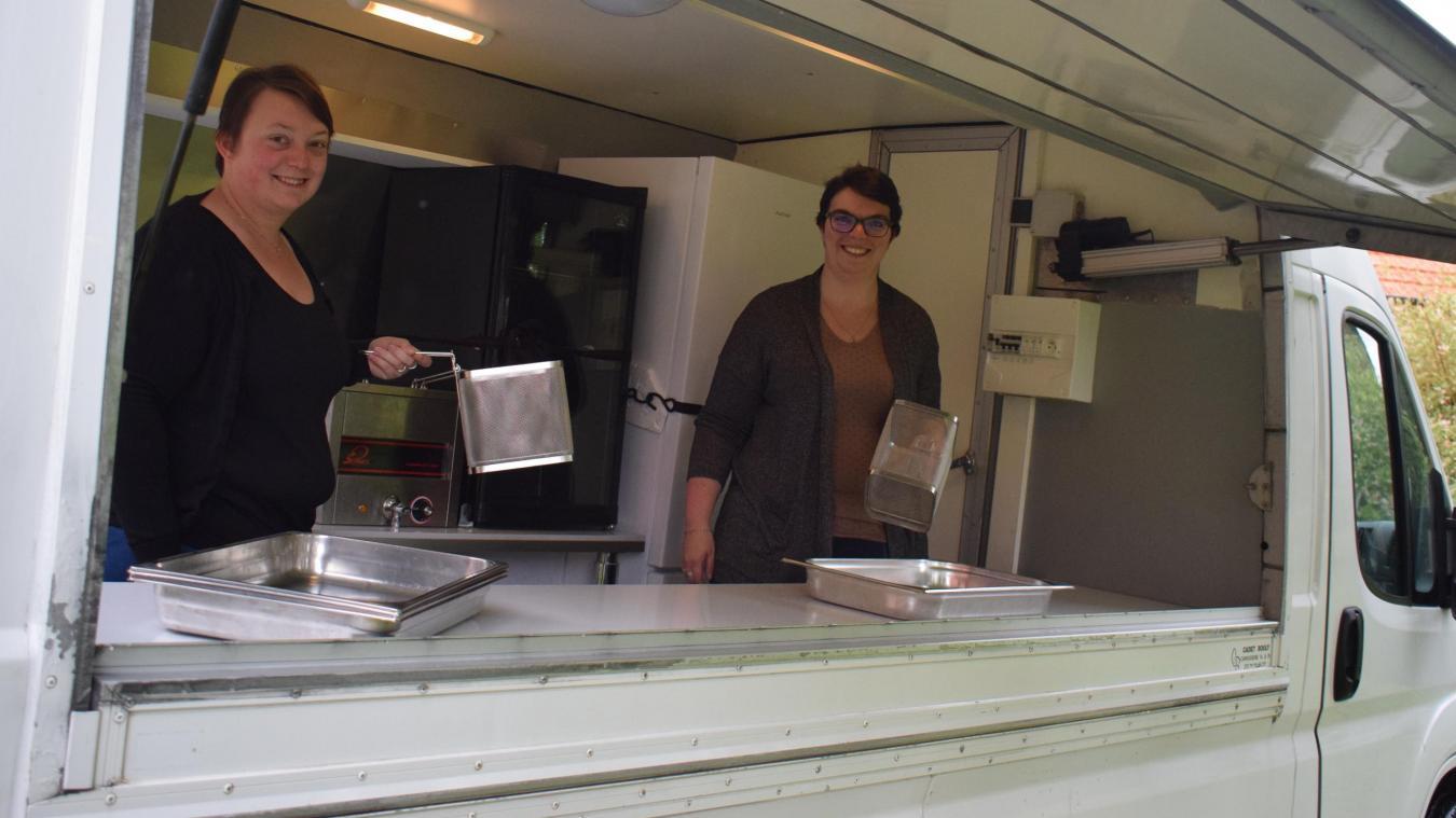 Anne François et Sandra Cattoen sont quasi prêtes à prendre la route et proposer leur savoir-faire.