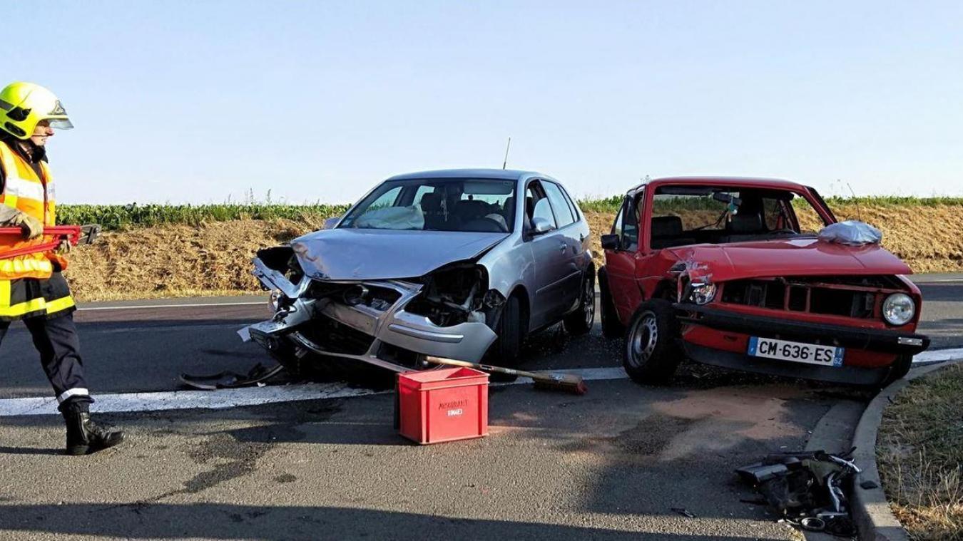 Vendin-les-Béthune : deux blessés légers dans une collision